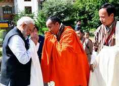 Bhutan: PM Modi visits National Memorial Chorten in Thimphu