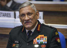 Pakistan holding ceasefire but drones being used to infiltrate weapons: Bipin Rawat