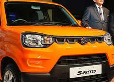 Maruti Suzuki launches S-Presso, Mini-SUV starting from Rs 3.69 Lakh