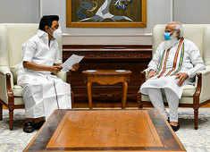CM MK Stalin meets PM Modi, seeks more Covid vaccine doses for Tamil Nadu