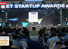 Times Group CEO Raj Jain delivers welcome address at ET Startup Awards 2019