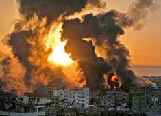 Palestinian militants, Israeli army exchange barrage of deadly fire as situation worsens