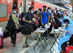 Watch: First special train to Kerala from Delhi reaches Thiruvananthapuram