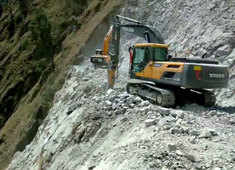 Watch: Indian Railways working to finish its toughest mountain project