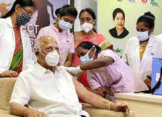 Apollo Hospitals Chairman Prathap C Reddy among first recipients of COVID vaccine shot, says happy to take it