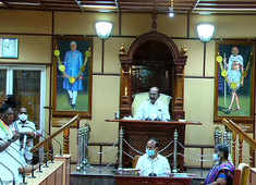 Puducherry government falls as CM V Narayanasamy loses trust vote in Assembly