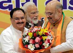 JP Nadda appointed as working president of BJP