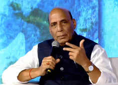 Kashmir is peaceful; no need to worry about Pakistan: Rajnath Singh at ET GBS 2020