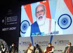 PM Modi calls for global solutions at Bengaluru tech event: Watch highlights