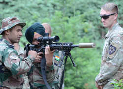 Yudh Abhyas 2019: Visuals from India-US joint military training exercise in Washington