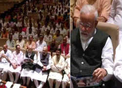 PM Modi tells MPs to think innovatively for their constituency