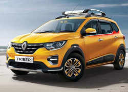 A new version of the Renault Triber