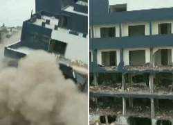 Watch: Indore Municipal Corporation demolishes Illegal building