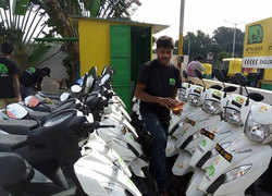 Move over Ola, Uber. Ride-sharing's future may be electric motorbikes