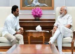 After massive win in Andhra Pradesh, YSRCP chief Jagan Mohan Reddy meets PM  Modi