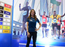 Seven-time Olympian Shannon Miller is preparing for Mumbai Marathon