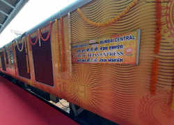 Ahmedabad-Mumbai Tejas Express, IRCTC's second train, flagged off