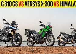 Autocar Show: BMW G 310 GS vs Kawasaki Versys-X 300 vs Royal Enfield Himalayan,  comparison review