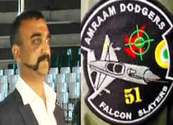 Abhinandan's squadron gets 'Falcon Slayer' patches to mark shooting down of Pak's F-16