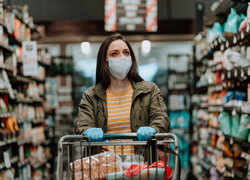 Is shopping in stores safe during the pandemic?