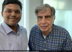 Watch: How Arjun Deshpande impressed Ratan Tata with his pharma startup