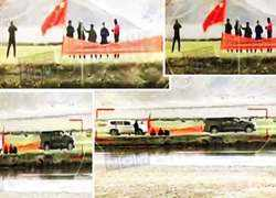Watch: Chinese groups enter Indian territory at Demchok in Ladakh