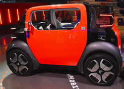 Drive this electric car with or without license!