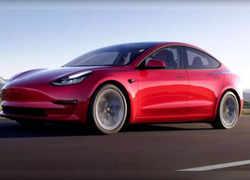 Watch: Tesla India Officials meet MoRTH secretary in Delhi, take a test drive in model 3