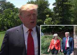 Donald Trump feels 'badly' for UK Prime Minister Theresa May