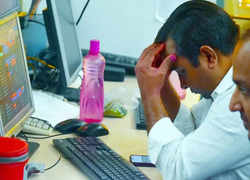 Sensex gyrates 866 pts, ends 125 pts lower; Nifty slips below 17,600