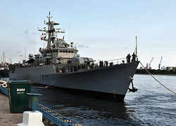 India's 1st naval drill with Bangladesh
