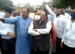 Gujarat CM Bhupendra Patel visits flood-affected areas in Jamnagar
