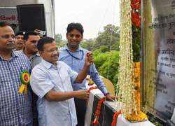 CM Kejriwal inaugurates new RTR flyover, says will ease to commute to IGI Airport