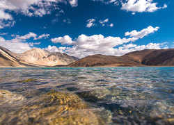 Why Pangong lake is the center of India and China's border dispute