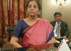 Global growth depends on India and China's performance: Nirmala Sitharaman