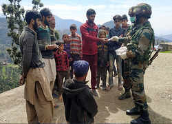 Indian Army conducts door to door campaign in Poonch to create awareness on COVID-19