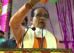 Madhya Pradesh: CM Shivraj Singh Chouhan suspended two officers from the stage itself over irregularities in 'PM Awas Yojana'