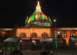 Independence Day 2020: Lucknow's Vidhan Sabha illuminates in tricolour