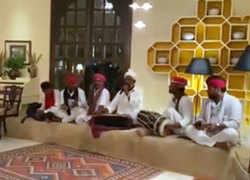 Watch: Gehlot-camp Congress MLAs enjoy folk performance at Suryagarh Hotel in Jaisalmer