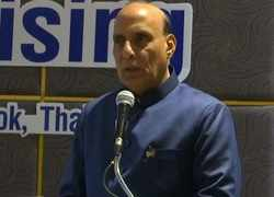 Working towards achieving US $26 billion Defence Industry by 2025:  Rajnath Singh