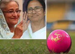 Sheikh Hasina, Mamata Banerjee to attend India's first Pink Ball Test match