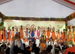 Gujarat CM Bhupendra Patel's new cabinet sworn in, 'No Repetition' from Rupani cabinet, 24 ministers take oath
