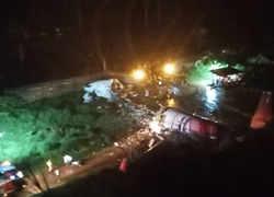 Air India Express plane coming from Dubai overshot the runway at Kozhikode airport in Kerala