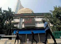 RIL, ITC give Sensex 418 pts lift, Nifty ends above 17,600; Voda Idea soars 28%
