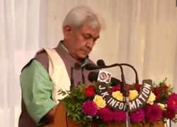 Manoj Sinha takes oath as new Lieutenant Governor of Jammu and Kashmir