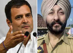 Rahul Gandhi says now NIA will be tasked to 'silence' DSP Davinder