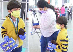 5-year-old boy flies alone to Bengaluru to reunite with mother after 3 months