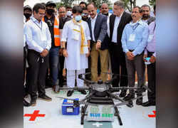 'Medicine from the Sky' project: Drones to deliver vaccines, medicines in remote areas, says Jyotiraditya Scindia