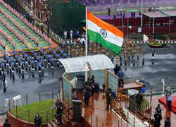 Glimpses of Independence Day Celebration full dress rehearsal