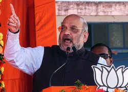 Jharkhand polls: Amit Shah accuses Congress for delay in Ram Mandir case